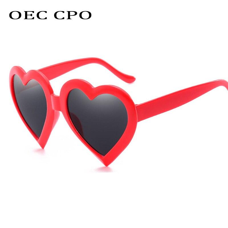 женские солнцезащитные очки lz oculos gafas dg4247b Женские солнцезащитные очки OEC CPO, сексуальные солнцезащитные очки в форме сердца, Винтажные Солнцезащитные очки oculos Feminino O51