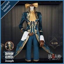 Anime! Identité V Joseph Cameraman Original peau uniforme Cosplay Costume pour Halloween scène Performance Costume nouveau livraison gratuite