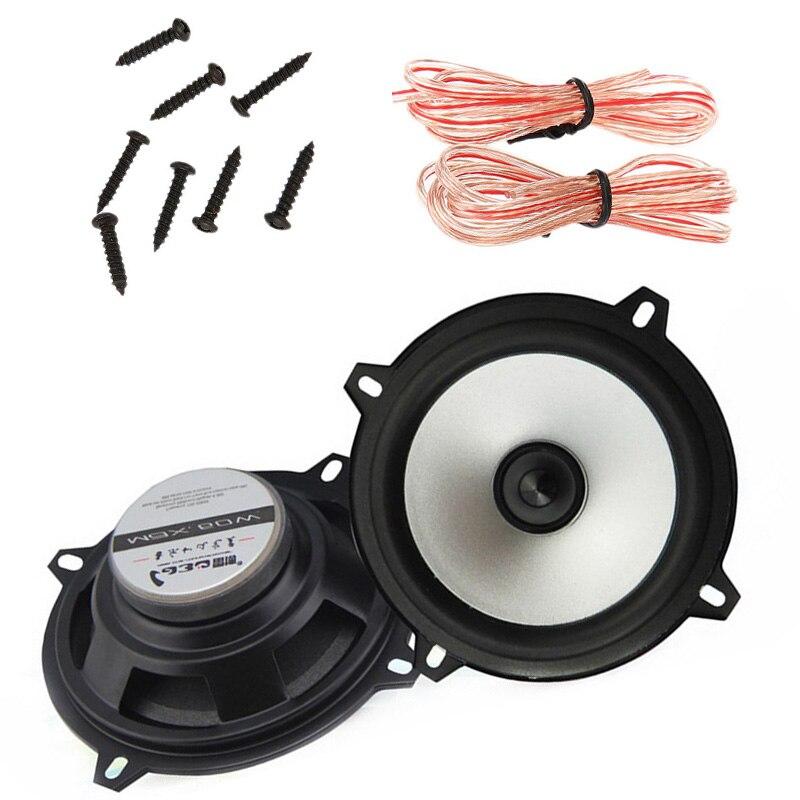 Altavoz 5 pulgadas 2x60 W altavoz Coaxial sensibilidad potencia coche audio estéreo altavoz 2 piezas LaBoCar subwoofer altavoz