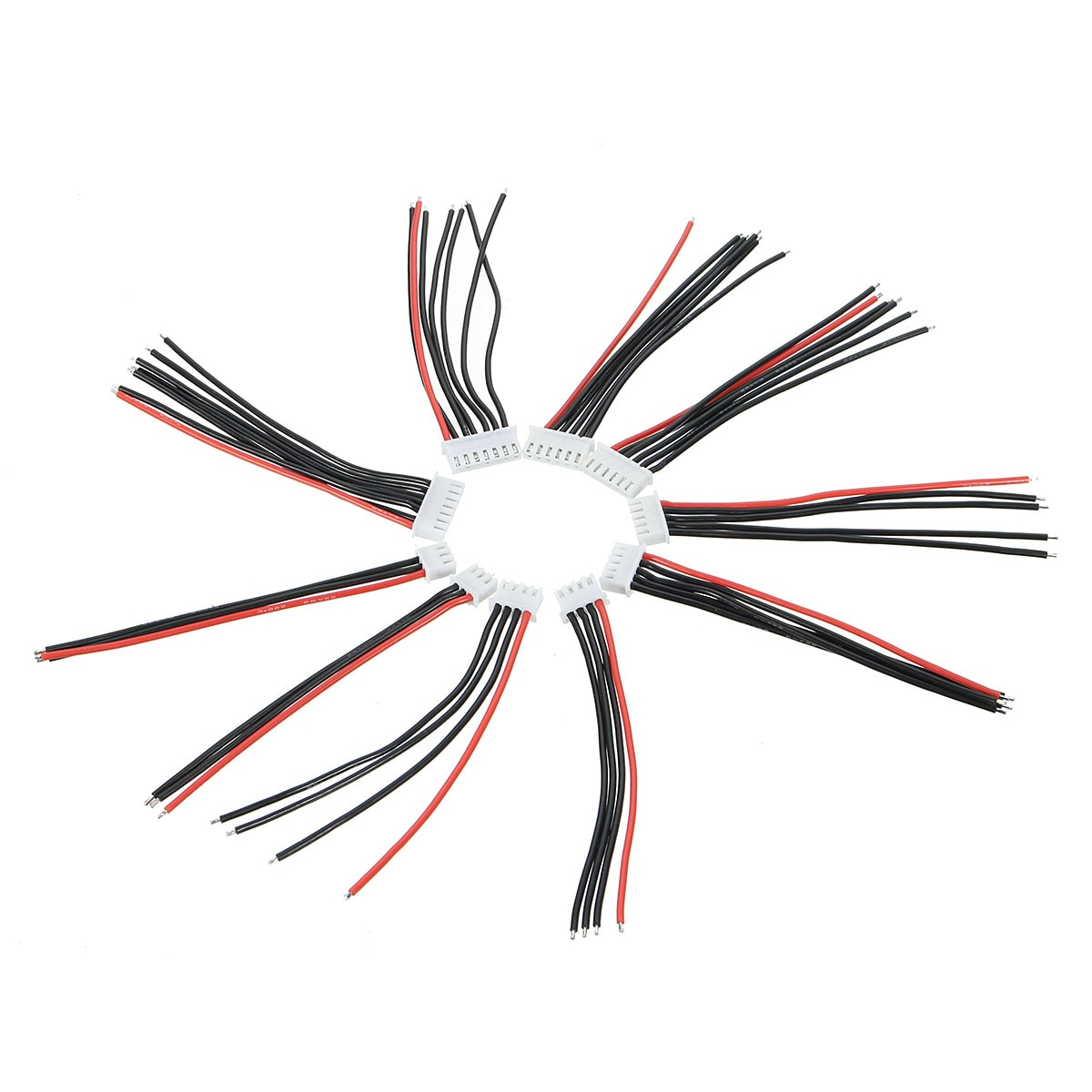 10 шт. JST-XH разъем 2-6S Imax B6 Баланс зарядный кабель провод адаптер Разъем 10 см