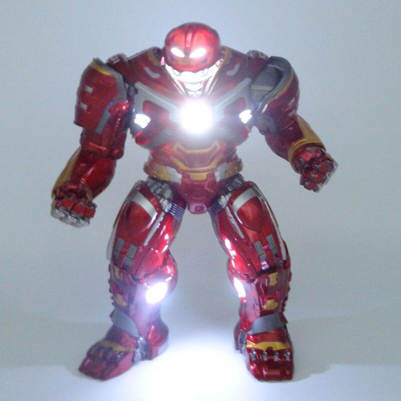 Figura de acción de los vengadores Hulkbuster 2,0, Iron Man, figura pintada a escala 1/8, versión ligera Iron Hulkbuster, hombre, figura de juguete de PVC, Brinquedos