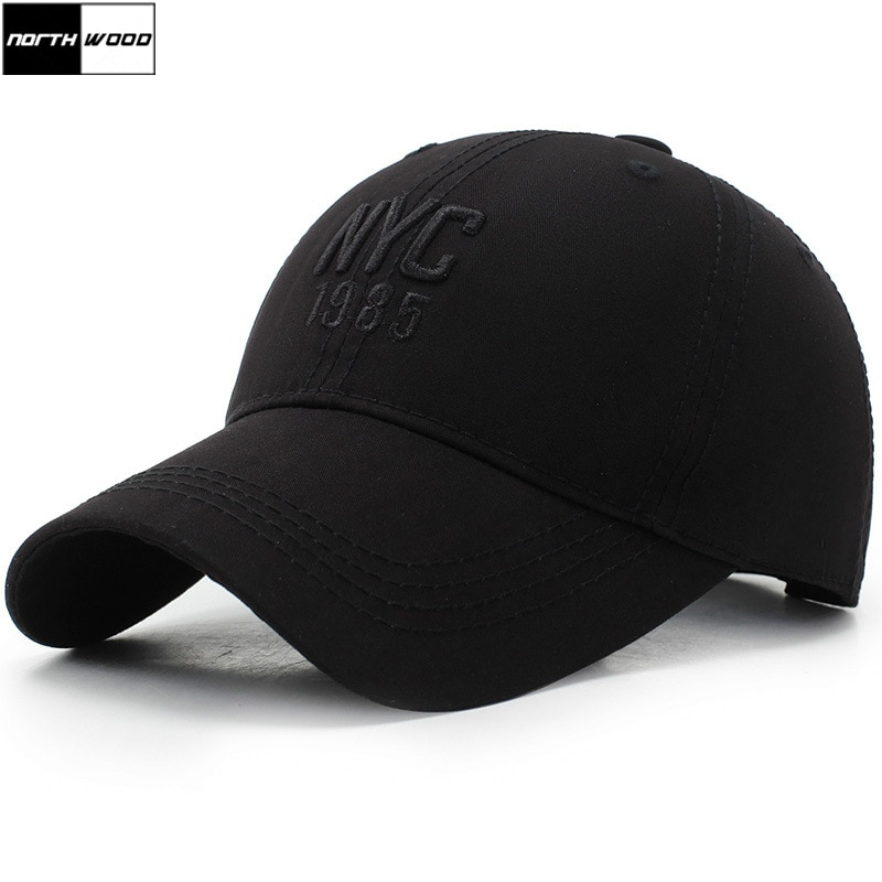 [NORTHWOOD] w nowym jorku haft czapka z daszkiem mężczyzn kobiet tata kapelusz Snapback Hip Hop Casquette Ny Gorras Para Hombre wyposażone czapka z daszkiem