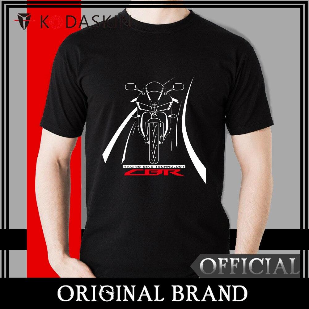 KODASKIN 2018 Male Loose Round Neck half-sleeved Wind Rrinting Fashion Summer Free Shipping CBR MOTOROLA T-shirt