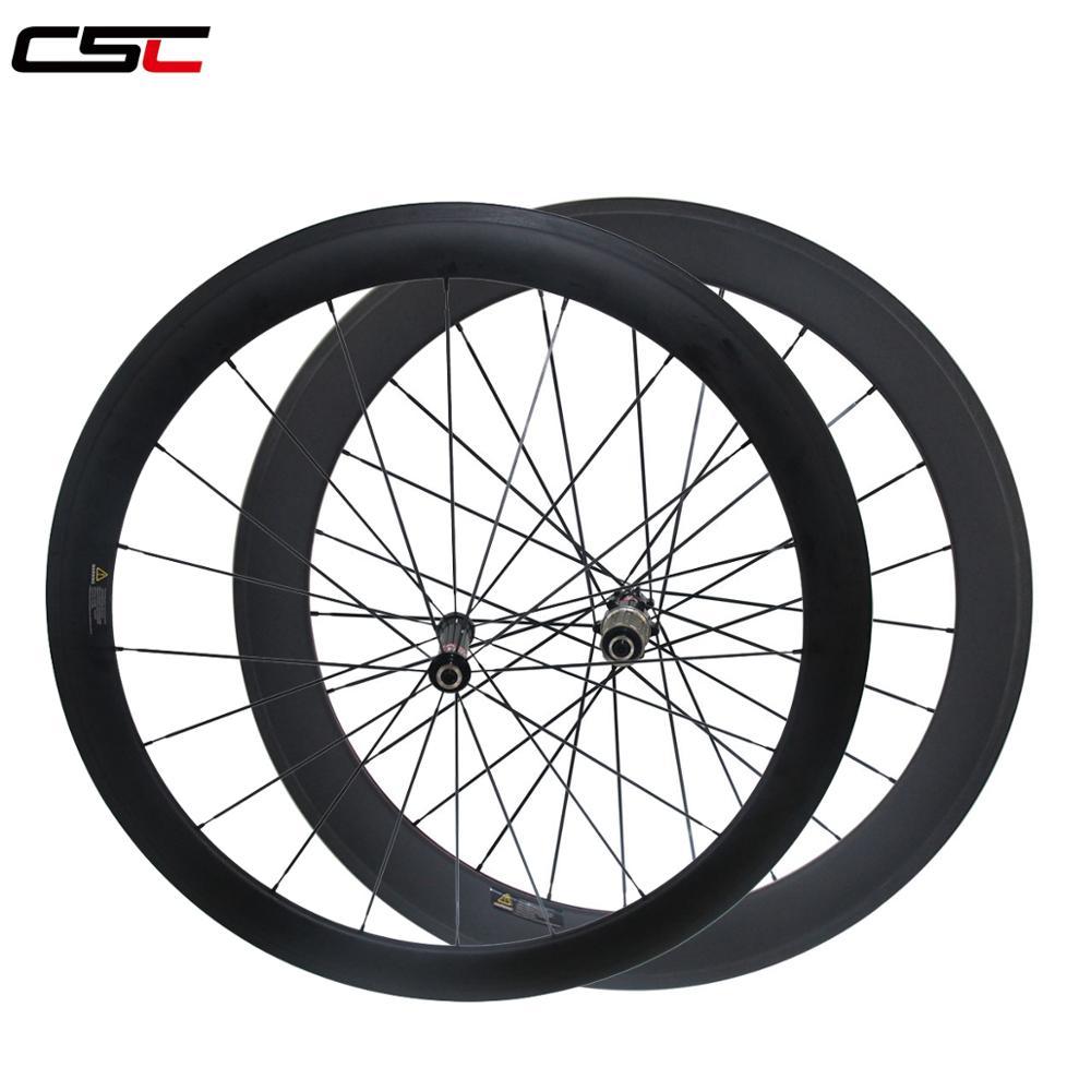Juego de ruedas tubulares para bicicleta, de 23 de ancho de 38 + 50 + 60 50 + 88 60 + 88, tamaño variado, para carretera AS511SB FS522SB