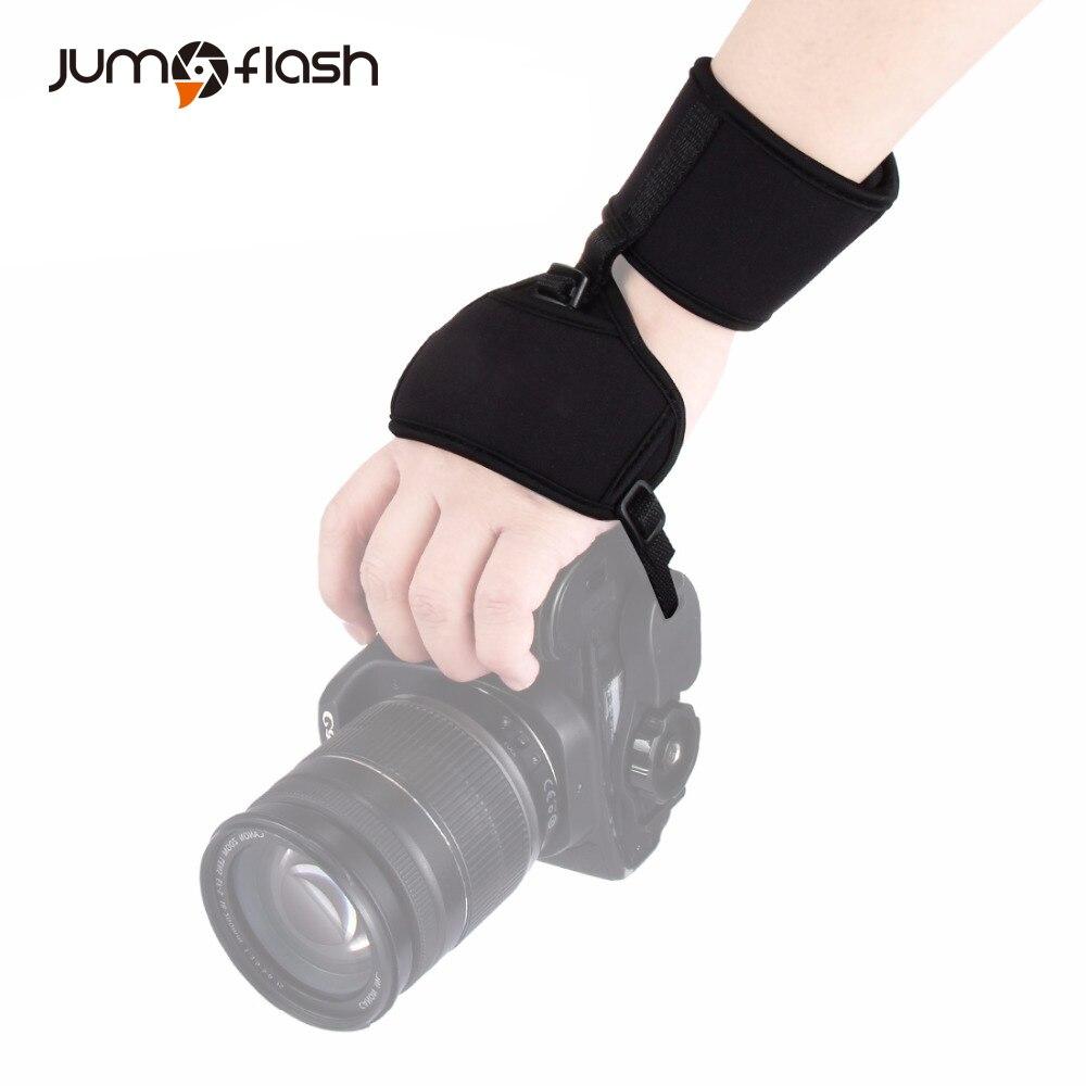 Мягкий неопреновый ремешок на руку для камеры DSLR камеры ремешок на запястье DSLR ручной ремень быстросъемный 1/4 ''винт