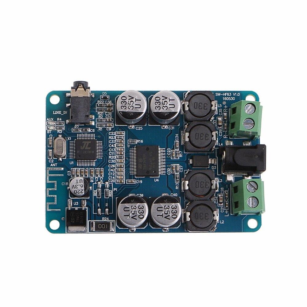 Płyta wzmacniacza zasilania TDA7492P odbiornik Bluetooth karta Audio 2x25W Mini wzmacniacz mocy DIY podwójny kanał Whosale i Dropship