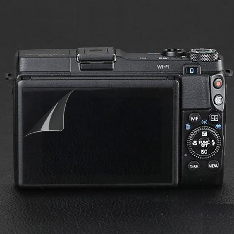 (Paquete de 6 piezas, 3) pantalla LCD Protector de pantalla para Canon Powershot G1X II/G1 X Mark III cámara Digital