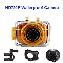 Winait HD 720P caméra Sport étanche Action caméra jetable 1.77