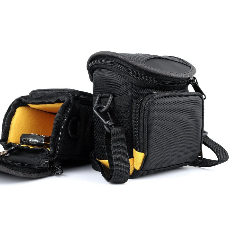 Bolso de la Cámara caso bolsa para SONY RX100 A6300 A5000 A5100 A6000 NEX-5 Fujifilm X70 XQ2 XF1 X20 Z200 JV255 Canon cámara