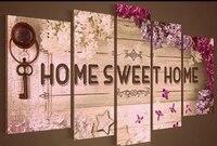 Perceuse a mosaique en resine 5D  5 pieces  decor de Photo de maison  rond  bricolage  peinture en diamant  kit de broderie  couture 5D  point de croix