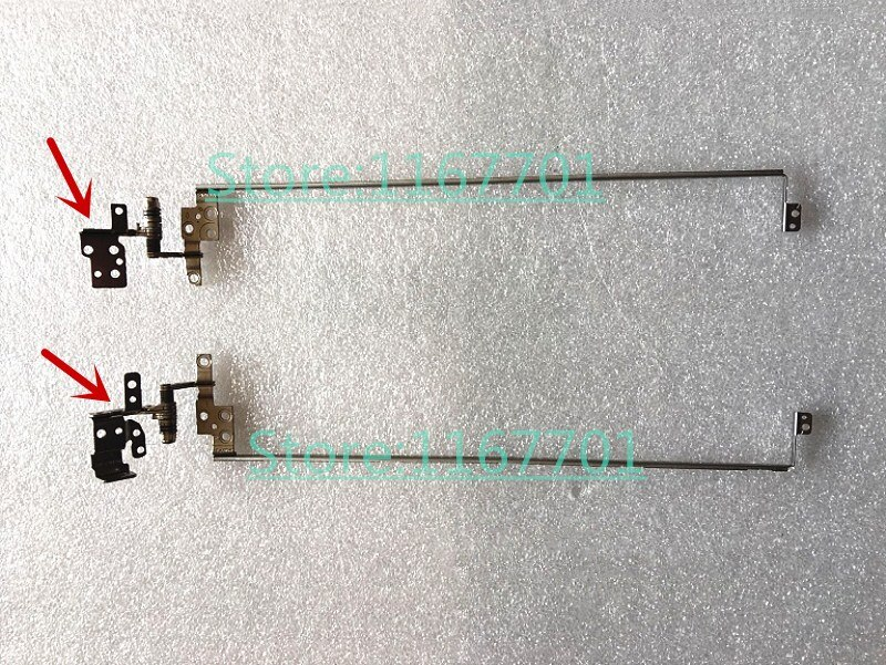 Original Laptop/Notebook LCD/LED Left & Right Dobradiças Eixo loops para Samsung NP500R5H NP500R5K NP-500R5H NP-500R5K 500R5H 500R5K