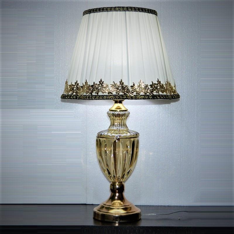 Estilo europeu moderno candeeiro de mesa para o quarto sala estar luxo decoração lâmpada mesa cabeceira iluminação