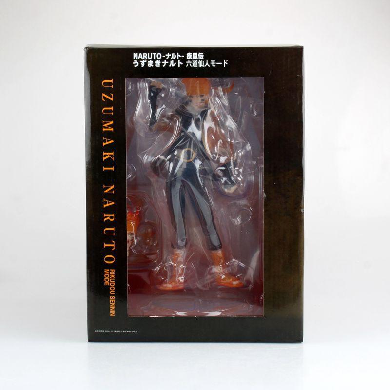 Figura de acción popular clásica de Anime Naruto Uzumaki Naruto Rikudo Sennin ootuki Hagoromo seis inmortales de 21,5 cm