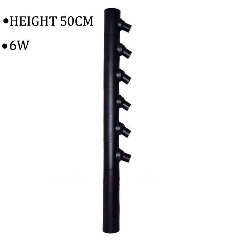110 V/220 V altura 500mm 6 W nueva llegada de alta potencia Led joyería luz ajustable