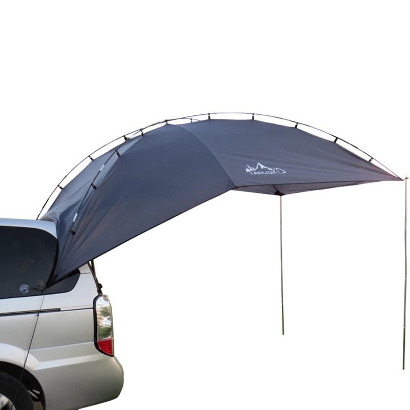 5-8 Persons Outdoor Camping Tent Folding Car ShelterAnti-UV Garden Fishing Waterproof Car Awning Tent Picnic Sun Shelter