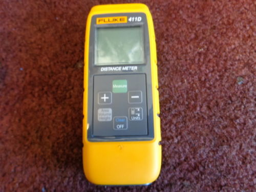 Chegada rápida 411D Fluke Digital Laser Medidor de Distância A Laser range finder 30 m
