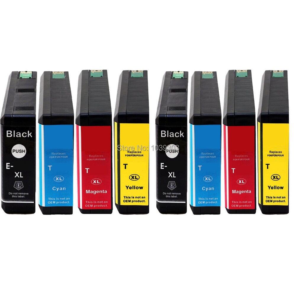 8 pk hi-rendimento compatível cartucho de tinta epson t786xl786xl e786xl 786 para epson workforce pro WF-4630 4640 5110 5190 5620 5690