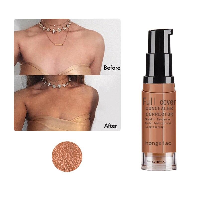 8Colors Concealer Makeup Base Cosmetic Full Cover Eye Dark Circles Cream Waterproof Face Corrector 6ml недорого