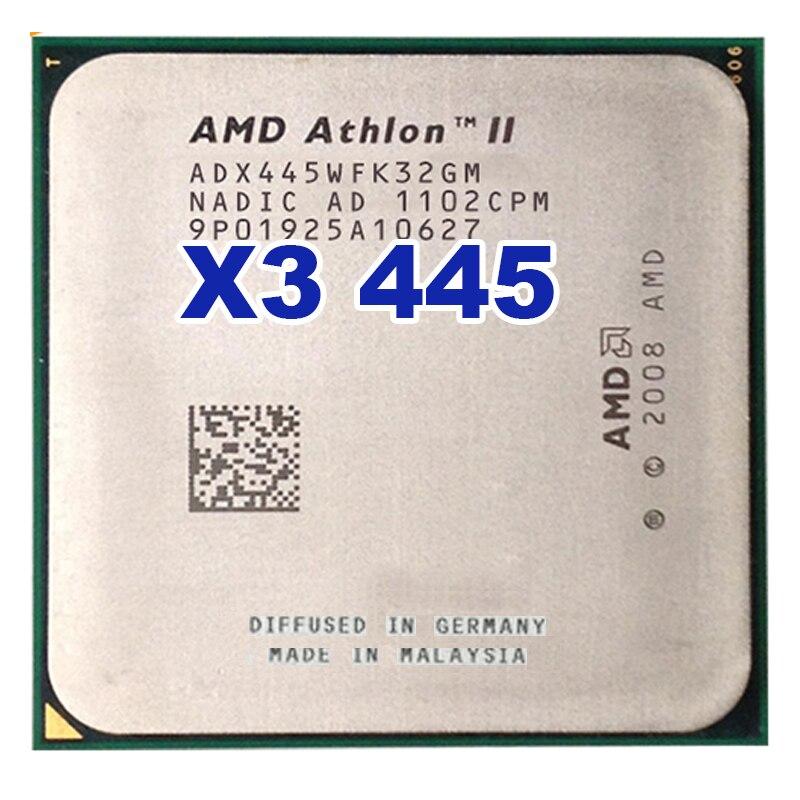 CPU AMD Athlon II X3 445, 3,1 GHz, enchufe de Triple núcleo...