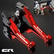 For Honda CR80R/CR85R 98-07 CR125R/CR250R 92-07 CR 80/85/125/250 R CNC Motorcycle Dirt Bike Motocross Pivot Brake Clutch Levers