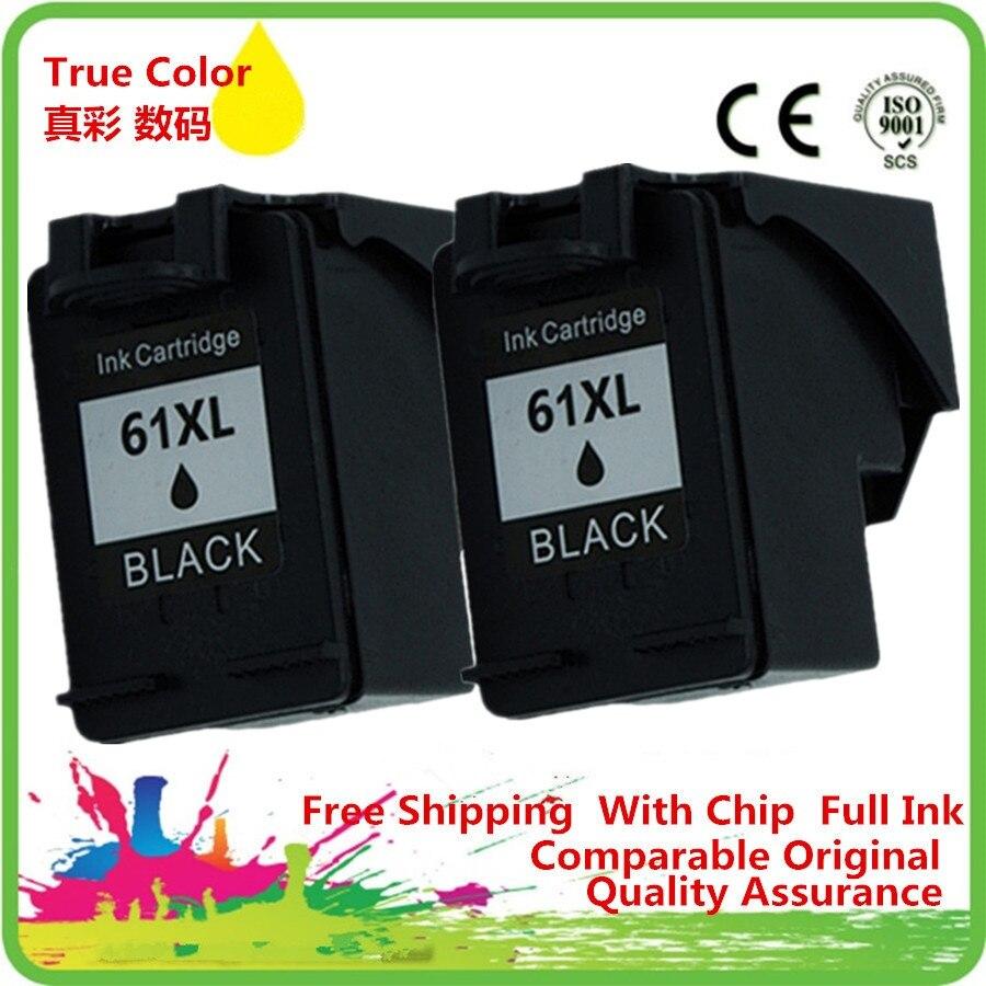 Cartucho de tinta remanufacturado For-HP61 HP61XL 61 XL 61XL CH563WN Deskjet serie 2512 de 2514 de 3000 3055a 3051, 3054, 3056, 3510, 3511