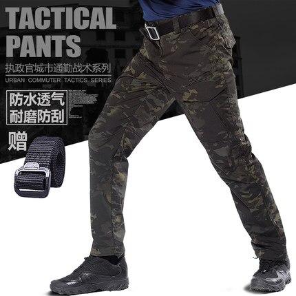 Esportes ao ar Calças de Camuflagem Homem com Multi Bolso para Acampamento Novos Livre Tático Militar Caminhadas Airsoft Caça 2022