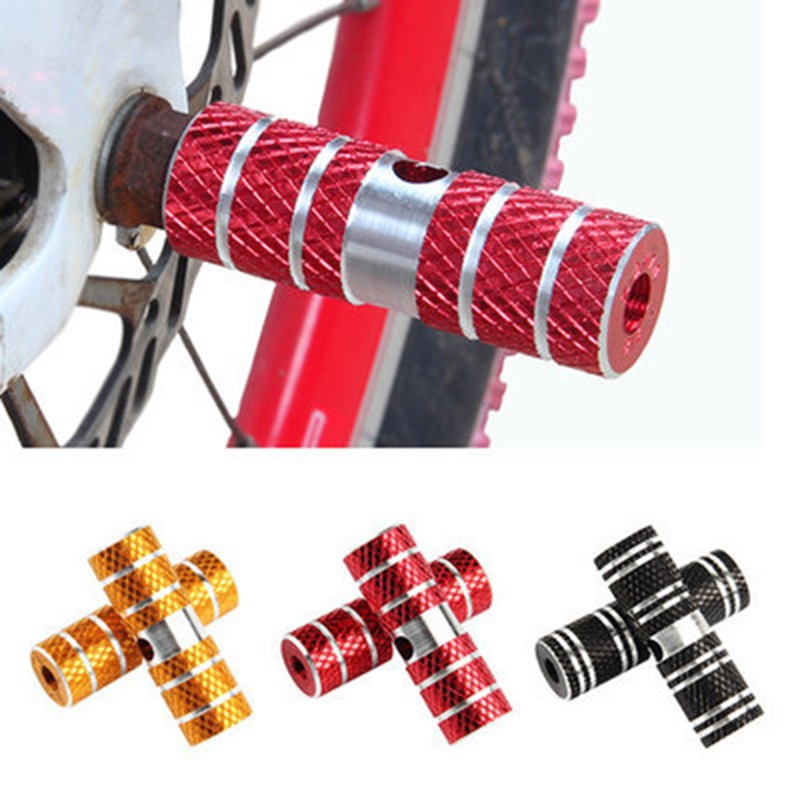 "1 par de pedales de bicicleta BMX, cilindro de bicicleta de carretera, aleación de aluminio 3/8 "", pedales de eje de bicicleta, pedales de cohete para bicicleta"