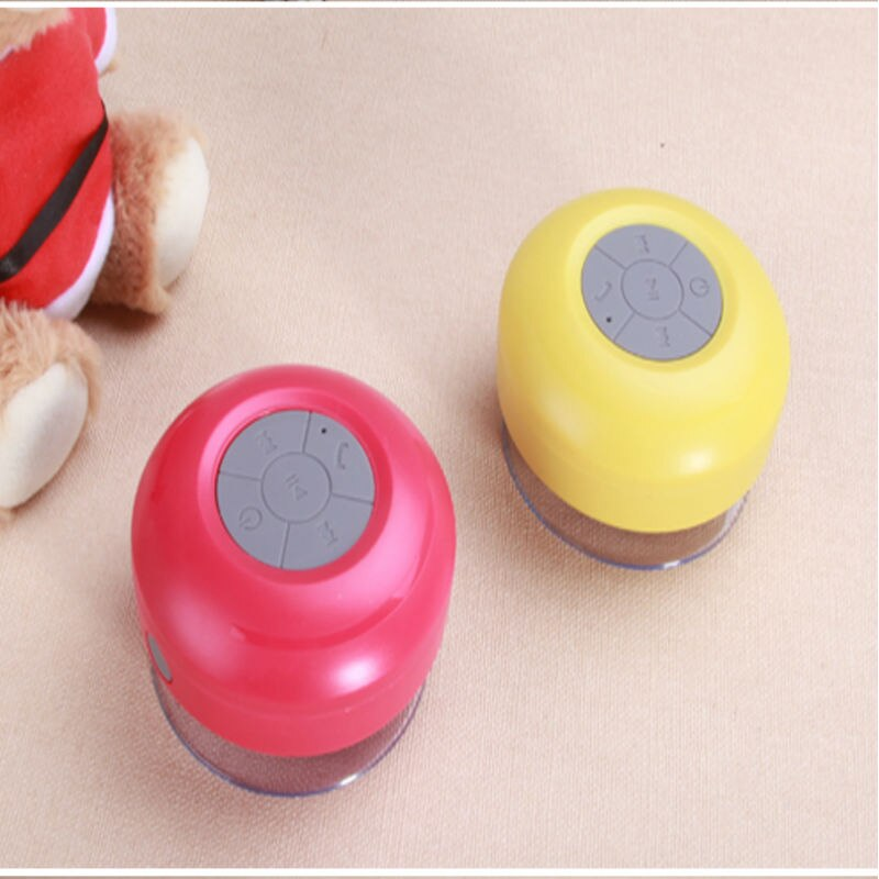 Mini Altavoz Bluetooth a prueba de agua, altavoz portátil de graves, altavoz de ducha Supergraves, altavoz manos libres inalámbrico para baño, música