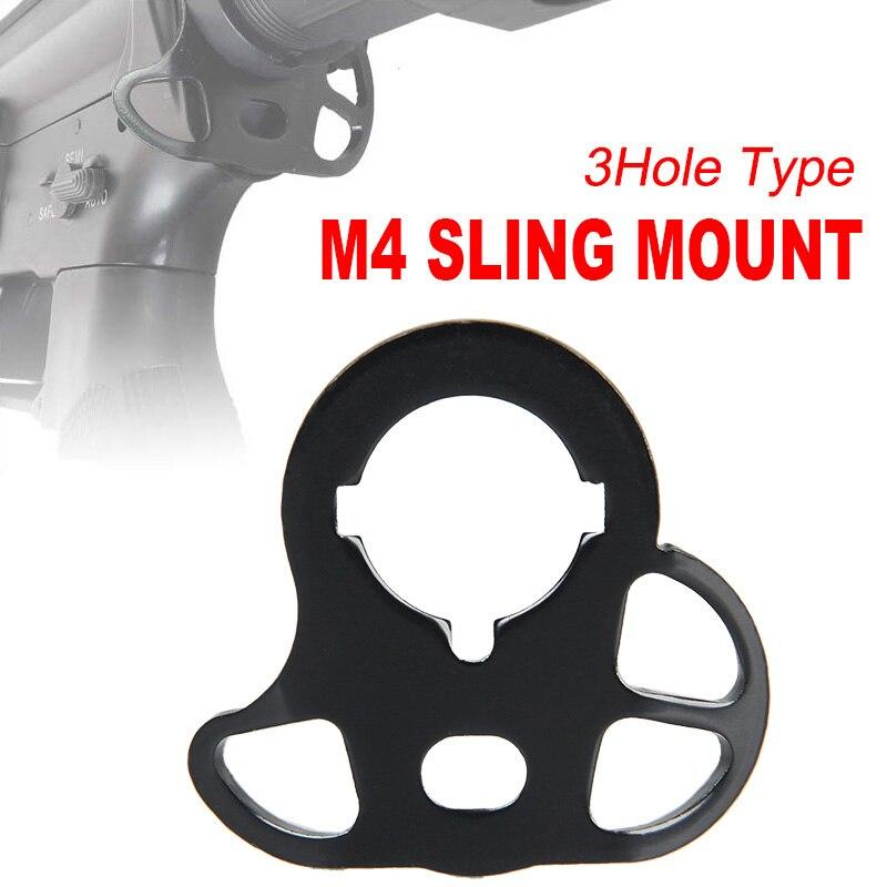 Chegada nova cor preta aeg gbb tipo sling adaptador caça acessório gs33-0053/gs33-0075