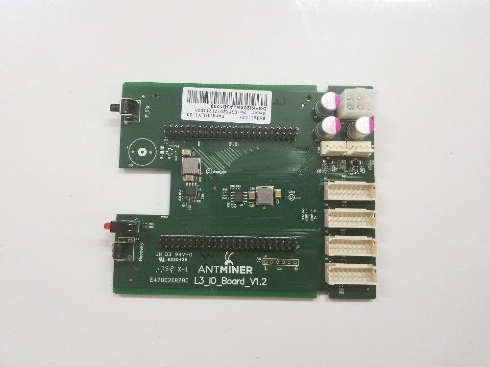 استبدال سيئة جزء من Antminer L3 + وحة التحكم ، جديد L3 + BB مجلس ، IO مجلس