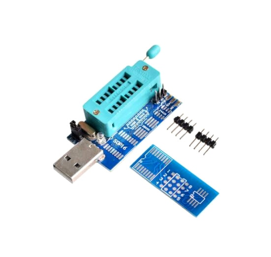 5 pcs DIY Kit Parts CH341A 24 25 Series EEPROM Flash BIOS DVD USB Multi-Function Programmer