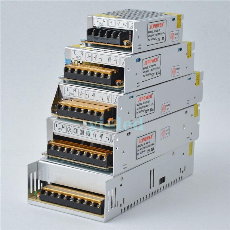 Адаптер питания Mokungit AC110/220V к DC 12V 1A 2A 3A 5A 6A 10A 15A 20A 25A 30A 40A 50A 60A, трансформатор постоянного тока 12 В