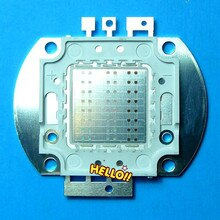 50W Watt LED RGB Chip Changing Full Color High Power Lamp Bright Light