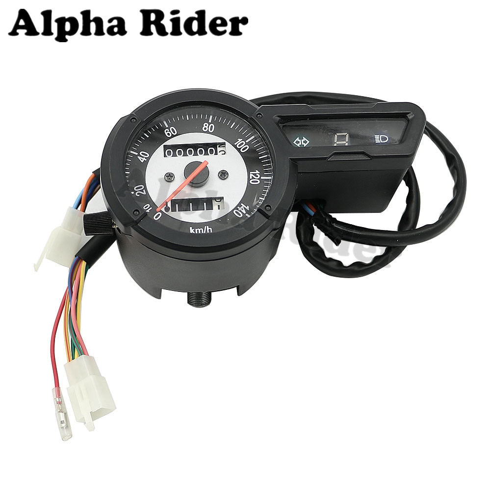 Para Yamaha XG250 XG 250 Tricker medidor de velocidad velocímetro/medidor de kilometraje odómetro tacómetro Intrument Clock Assembly