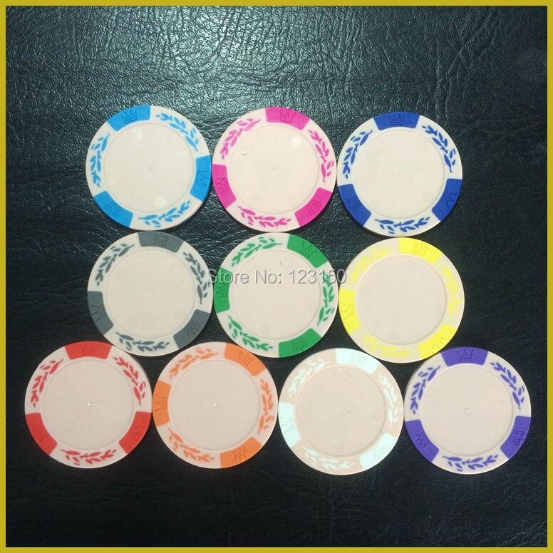 Пустая покерная микросхема, 14 г/шт., глина, 50 шт. в комплекте, бесплатная доставка