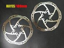 Rotors de disque de frein de vélo de haute qualité en acier inoxydable Hayes 180mm dorigine vtt