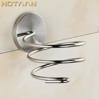 Porte-seche-cheveux en acier inoxydable SUS 304  support solide et antirouille  etagere  accessoires de salle de bain