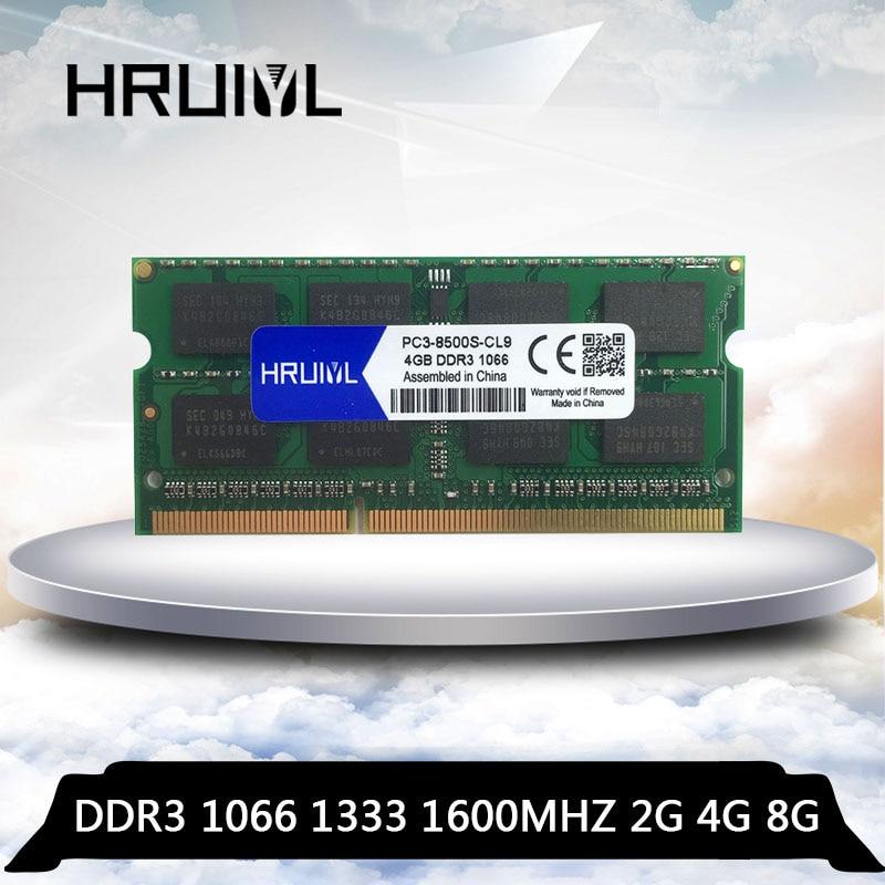 HRUIYL-Memoria Ram para ordenador portátil