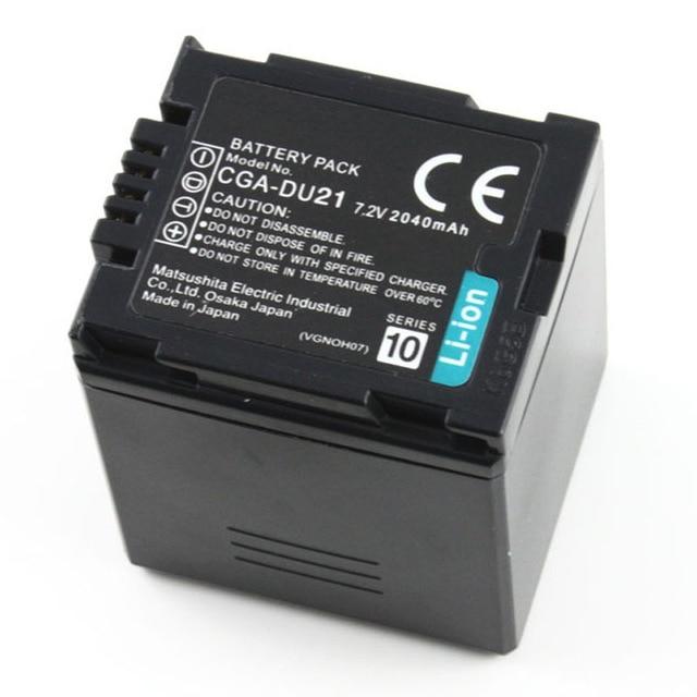 CGA-DU21 CGA DU21 VBD210 batería para Panasonic NV GS500 GS28 GS328 GS320 GS250 GS258 GS300 GS308 SDR H28 H250 H280 H288