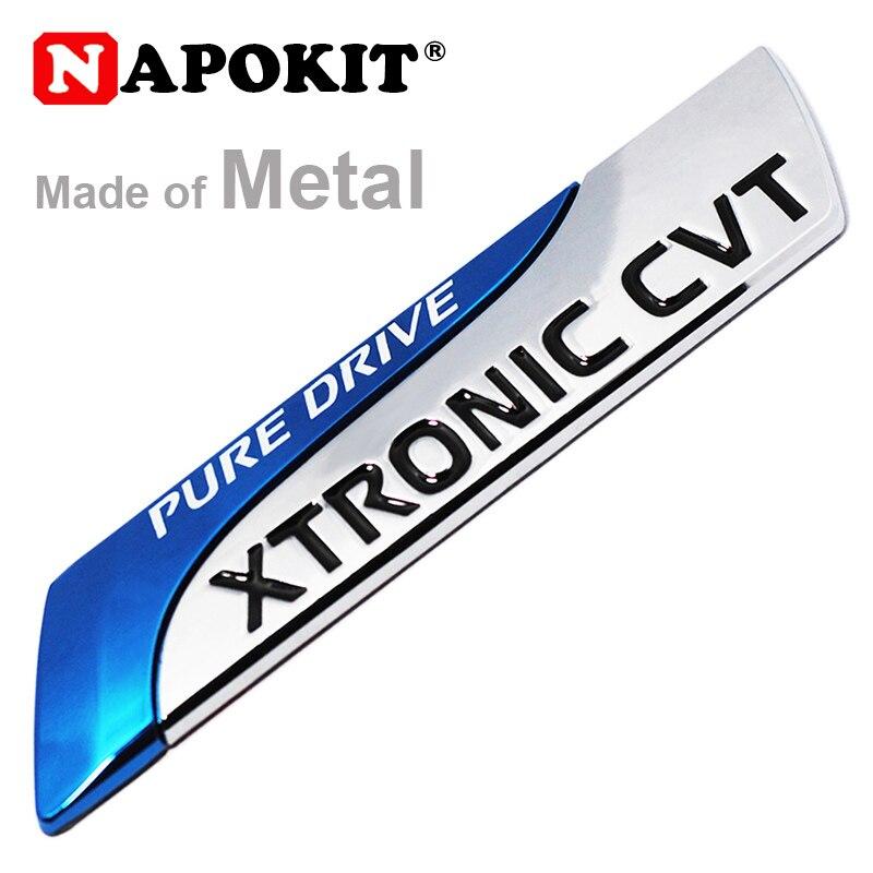 Для Nissan Metal Pure Drive XTRONIC CVT Nismo Эмблема значок хвост наклейка Qashqai X-Trail Juke Teana Tiida Sunny Note автомобильный Стайлинг
