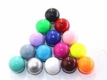 5 pièces/lot 16mm cloche balle pour médaillon Cage son Musical coloré harmonie balle enceinte cadeau son cloche balles bijoux