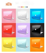Laptop Case Apple MacBook hava Pro Retina 13 15 11 12 Macbook 13.3 15.4 kristal şeffaf sert MacBook çantası pro16