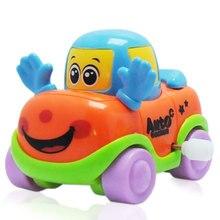 1 teile/los Ziehen Auto Spielzeug Auto Kinder Racing Auto Baby Mini Autos Cartoon Pull Zurück Bus Lkw Kinder Spielzeug für Kinder Jungen Geschenke