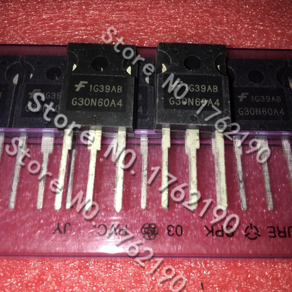 50 PÇS/LOTE HGTG30N60A4 G30N60A4 PARA-247 IGBT 600V
