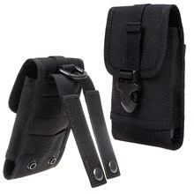 Étui pour huawei P20 P30 Pro Honor 10i 10 Lite randonnée en plein air Sports téléphone portable sac de taille armée Camo crochet boucle ceinture pochette