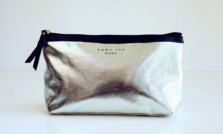 Emma YAO  fashion Women's Zipper Cosmetic Case Bag Makeup Purse  wash bag hot sale