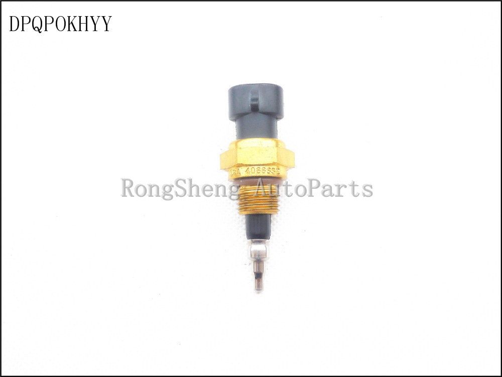 Dpqpokhyy genuíno para cummins qsc, sensor de temperatura do coletor da entrada de qsm 4088832