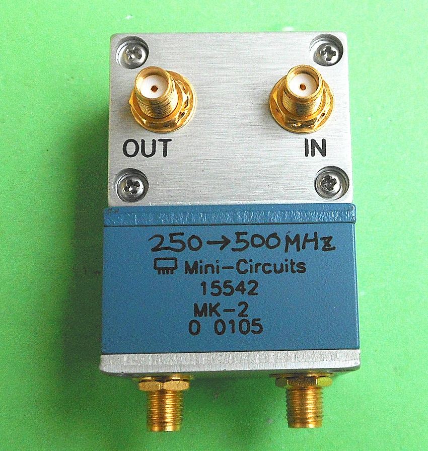 Used MK-2 5-500M/10-1000MHz SMA RF microwave multiplier free shipping flp11p 1000 1000mhz high order low pass filter rf coaxial lc lpf sma sensor