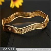 kfvanfi fashion african bridal copper gold color body jewelry making organizer bangles for women