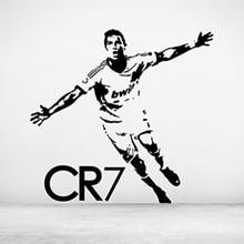 YOYOYU Portugal Star Cristiano Ronaldo Vinyl Wall Sticker CR7 Madrid Removeable Decal Bedroom Decoration Art Poster ZX320